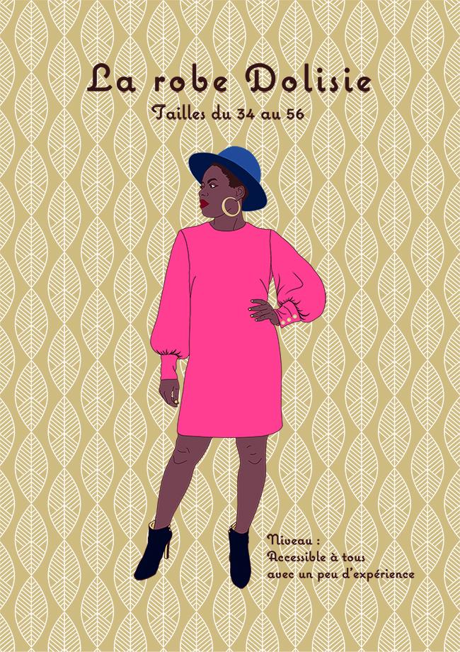 small Patron Robe Dolisie par Christelle Bahezi